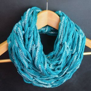 Arm Knit Infinity Scarf Video Tutorial