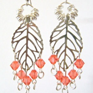 Tulip Tint Dangle Earrings
