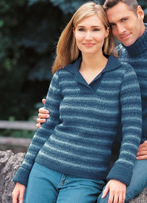 Favorite Seed Stitch Pullover