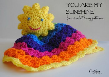 You Are My Sunshine Lovey Pattern