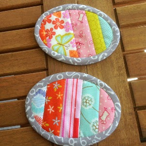 Oval DIY Pot Holders