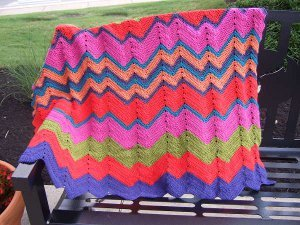 Stop and Stare Crocheted Afghan