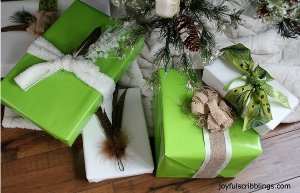 Birds of a Feather Gift Wrap
