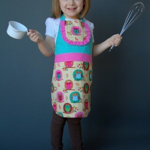 Printable Kids' Apron Pattern