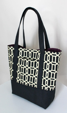 13 Step Canvas Tote