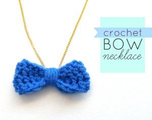 Many Compliments Crochet Necklace