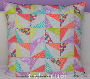 Confetti Cushion Tutorial