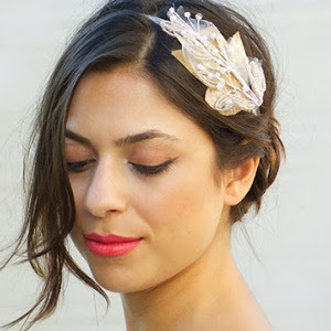 Embellished Foliage DIY Wedding Headpiece