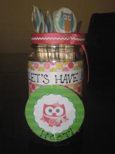 Let's Have a Hoot Boredom Buster Jar