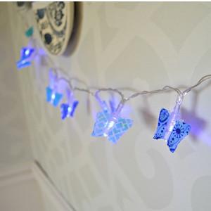 DIY Washi Tape Fairy Lights