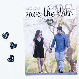 Twisted Twine Save the Dates