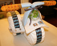 How to Make a Diaper Tricycle