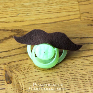 No Sew No Shave DIY Pacifiers