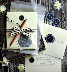 Free Printable Personalized Vintage Stationery
