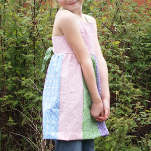 Girls' Apron Dress Pattern