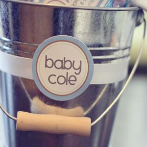 Baby Shower Bucket