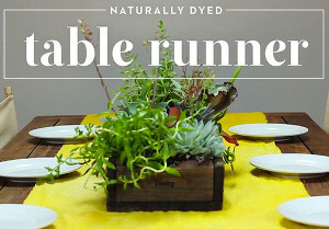 Refreshing Table Runner