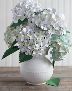 Handsome Hydrangea DIY Paper Flowers
