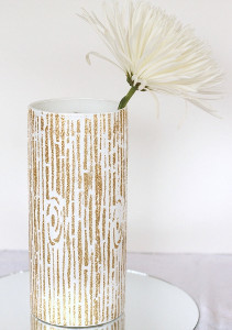 Country Chic Centerpiece Vase