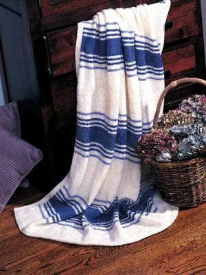 Seaside Stripes Blanket