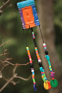 Whimsical DIY Wind Chimes