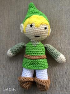 Legend of Zelda Amigurumi Link AllFreeCrochet.com