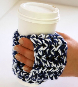 Happy Hands Coffee Cozy