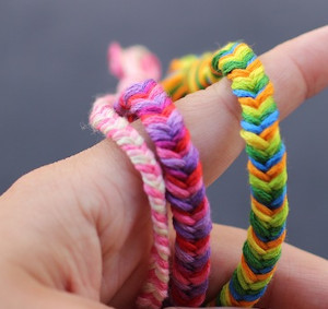 Effortless Fishtail Friendship Bracelets