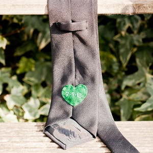 Hidden Heart Custom Tie