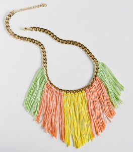 Fancy and Fringed DIY Necklace