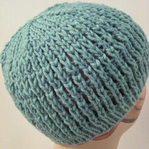 Knitting Slip Stitches Onto A Thread : Slip-Stitch Mesh Hat AllFreeKnitting.com