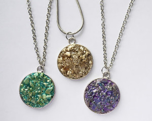 Dazzlingly Druzy DIY Necklace