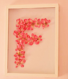 Fairytale Framed Flower Monograms