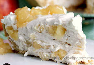 Incredible No-Bake Whipped Apple Pie
