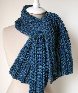 Wonderfully Warm Crochet Scarf