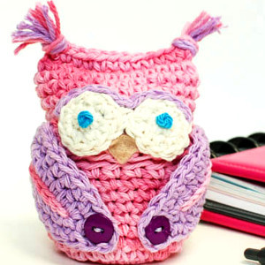Owl Obsessed Crochet Cozy