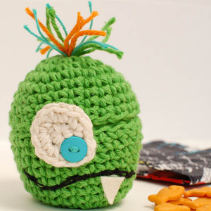Silly Monster Crochet Cozy