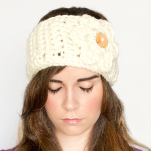 The Best Crochet Ear Warmer Free Crochet Pattern