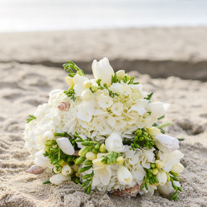 By the Seashore Wedding Bouquet