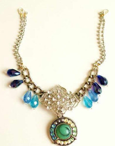 Fabulous Fringe Rhinestone Necklace
