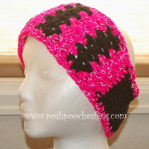 Radiantly Reflective Crochet Headband