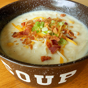 Disneylands Loaded Potato Soup Copycat