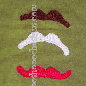 Mustache You to Crochet