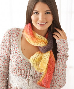 Bonfire Lace Scarf