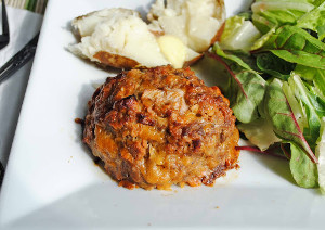 Cheddar Onion Mini Meatloaf