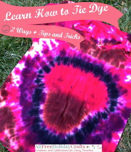 Learn How to Tie-Dye