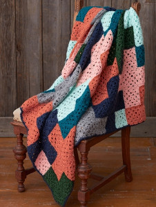 You Plus Me Crochet Afghan