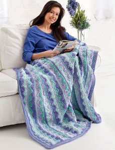 Magical Mist Crochet Throw