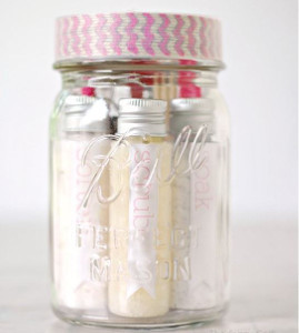 Pampering Pedicure Mason Jar Gifts