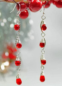 Light Up the Season Earrings